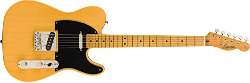 Squier by Fender 50's Telecaster – Ahorn – Butterscotch Blonde
