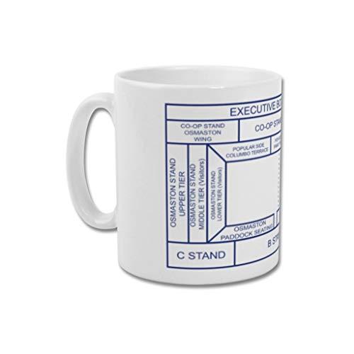 Derby County Graphic Design Football Gift - Print or Mug - Baseball Ground'Ticket Stub' Ground Designs (Mug)