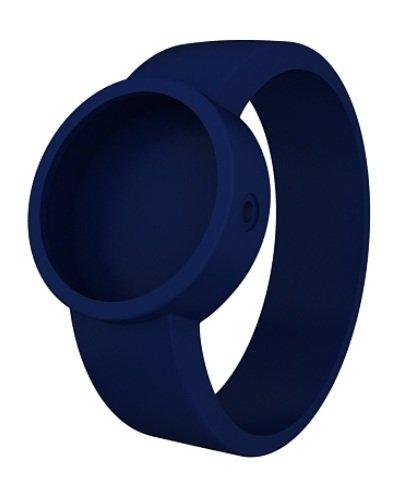 O clock Unisex-Wechselarmband für Armbanduhr blau Silikon 32 mm Covers_OC