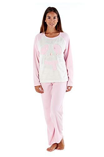 Selena Secrets Conjunto de pijama para mujer, diseño de oso polar