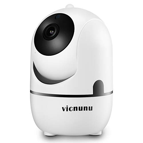720P Security Wireless Camera With Motion Detection, Smart Night Vision And Two-Ways Audio. 2.4Ghz WiFi Smart IP Indoor Camera For Baby Monitor Elder Pet Dog Nanny.