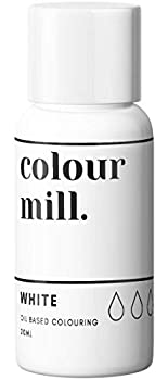 Colour Mill Oil-Based Food Coloring 20 Milliliters White