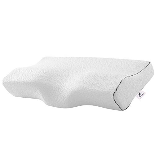 birola Posture Pillows for Sleeping,Cervical Pillow for Neck Pain Pressure Relief,Ergonomic Contour Memory Foam Pillow for Side Sleeper,Back Sleeper and Stomach Sleeper (King Size:24.5x15.2x4.5 inch)