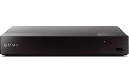 SONY Wi-Fi Upgraded Multi Region Zone Free Blu Ray DVD Player - PAL/NTSC - Wi-Fi - 1 USB, 1 HDMI, 1 COAX, 1 ETHERNET Connections - 6 Feet HDMI Cable Included (Renewed)