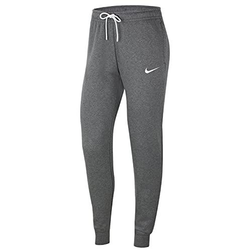 Nike Damen Women's Team Club 20 Pant Trainingshose, Charcoal Heather/White/White, M EU
