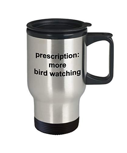 Eli231Abe vogels kijken mok recept meer vogel kijken geschenken voor vogel kijken roestvrij staal