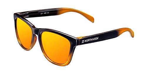 NORTHWEEK Gradiant Gafas de sol, Naranja, 52 Unisex