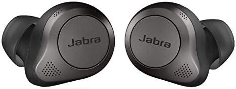 Jabra Elite 85t True Wireless Bluetooth Earbuds Titanium Black Advanced Noise Cancelling Earbuds product image