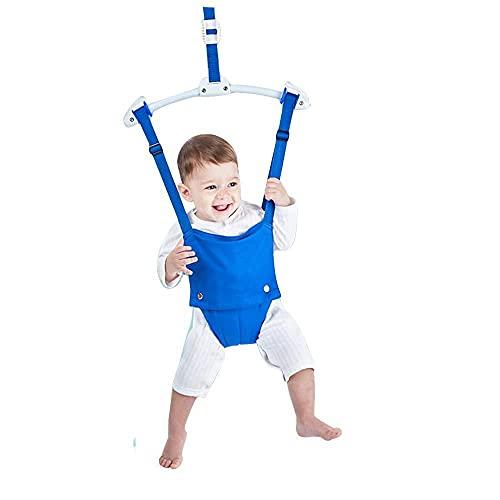 Xiangtat Baby Door Jumper, Playful Parade Door Jumper Door Clamp Adjustable Strap for Toddler Infant 6-24 Months