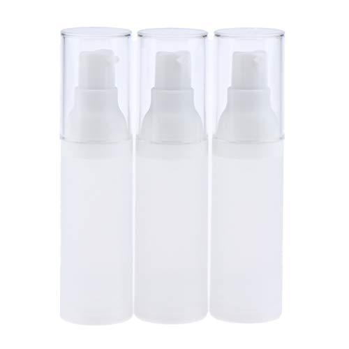B Blesiya 3pcs Bouteille de Lotion pour voyage Avion Usure Quotidienne, Bouteille de Produits de Toilette Liquide pour Cosmétique - 30 ml