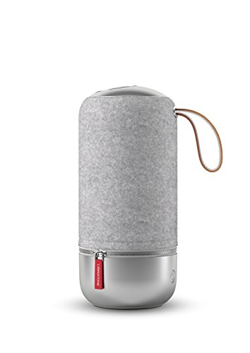 Libratone ZIPP MINI Copenhagen Edition Wireless Lautsprecher (360° Sound, Wlan, Bluetooth, MultiRoom, Airplay 2, Spotify Connect, 10 Std. Akku) salty grey
