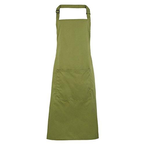 Premier Fitness Premier Bip Apron, Delantal de Chef para Hombre, Verde (Oasis Green 00), Talla única