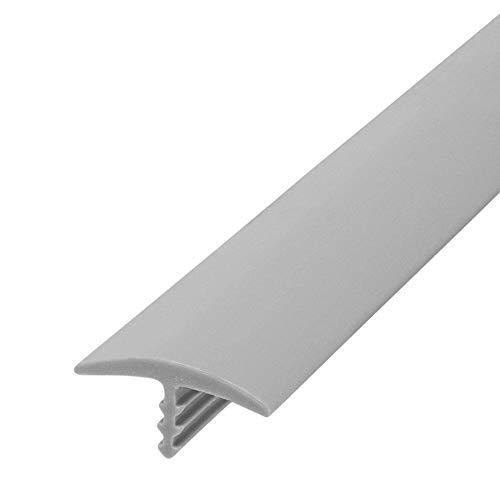 Edge Supply Plastic T Molding 3/4 inch X 25 ft Roll, Dove Gray Matte T Molding, Durable, flexible Dove Gray Matte T Trim for DIY, Table or Arcade Trim, High End Flexible Dove Gray Matte T Molding Trim