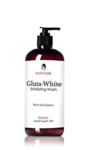 GLUTA-WHITE, exfoliating wash