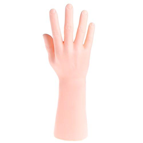 Soporte de joyería, maniquí para hombre y hombre, exhibición de la mano de la joyería del anillo de la pulsera del soporte del guante