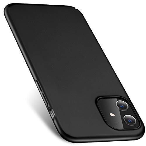 Preisvergleich Produktbild iPhone 11 Hülle Hart Matt iPhone 11 Schutzhülle Kameraschutz Anti-Scratch Anti-Fingerprint Hard Case Stoßfest Dünn Schale Tasche Handyhülle
