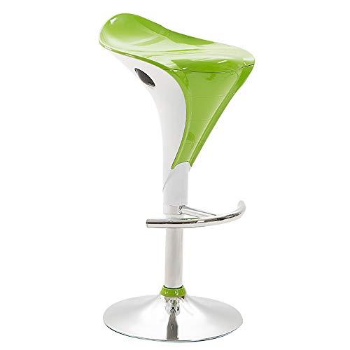 Silla de elevación muebles de oficina, pintura, tocador, niños, laboratorio, bar, taburete de salón de belleza-green