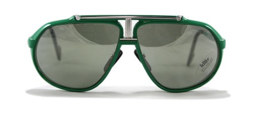 Ultra Rare Sonnenbrille Aviator Killy/Cartier 469 Carbon-grün