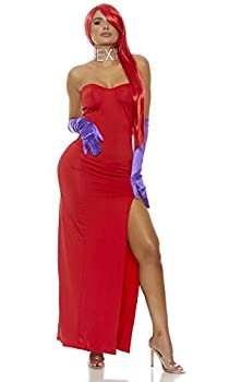 Forplay Women s Mrs Rabbit To You Costume Set Red Medium/Large