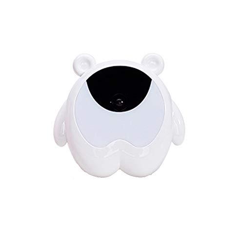 RGB-Wecklicht, Nachtlicht mit süßem Bärenwecker, Sensortischlampe, USB-Schreibtischlampe, Induktionssteuerung, Nachttischlampe für Schlafmittel, digitale Bildschirmanzeige, Schlafzimmer anwenden