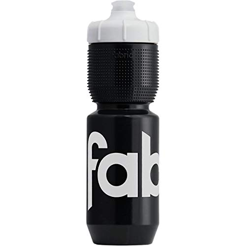 Fabric Gripper Insulated isolierende Fahrrad Trinkflasche 650ml schwarz/weiß