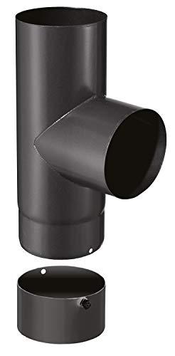 puissant ISOTIP-JONCOUX 950033 TE 90 ° + tampon email 0.7, noir, diamètre 150