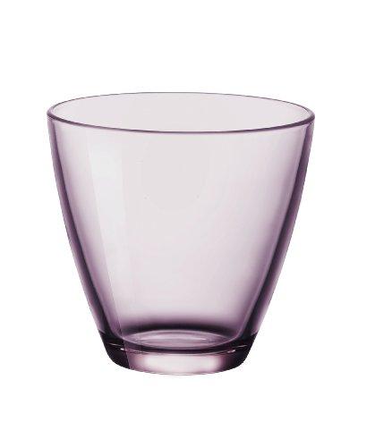 Bormioli Rocco 383430V42021990Zeno Juego de Vasos de Agua, 26cl, Lila