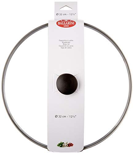 Ballarini Salento Coperchio Vetro con Valvola Sfogo Vapore, Trasparente, 32 cm
