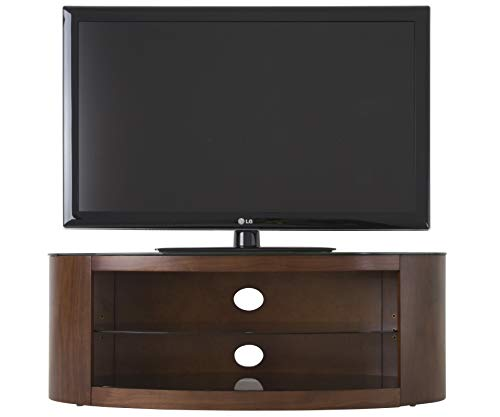 Buckingham TV Stand Walnut Veneer Wooden TV Table 40 42 46 47 50 52 55