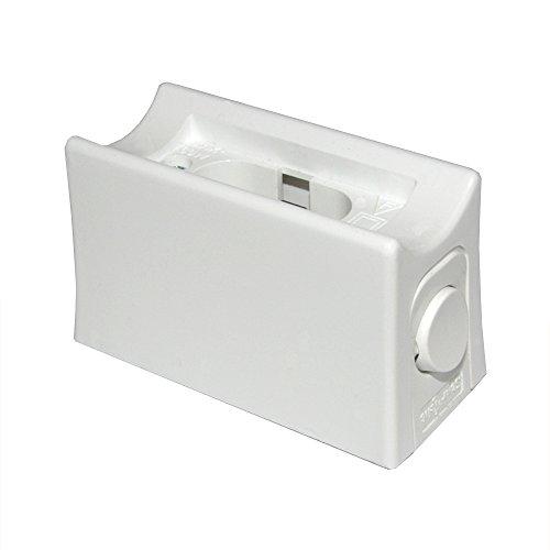 Fassung Linienlampe für Osram Linestra Ralina 35W & 60W S14d ein Sockel mit Schalter weiß