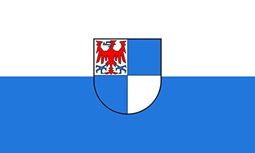 Unbekannt magFlags Tisch-Fahne/Tisch-Flagge: Schwarzwald-Baar-Kreis (Kreis) 15x25cm inkl. Tisch-Ständer