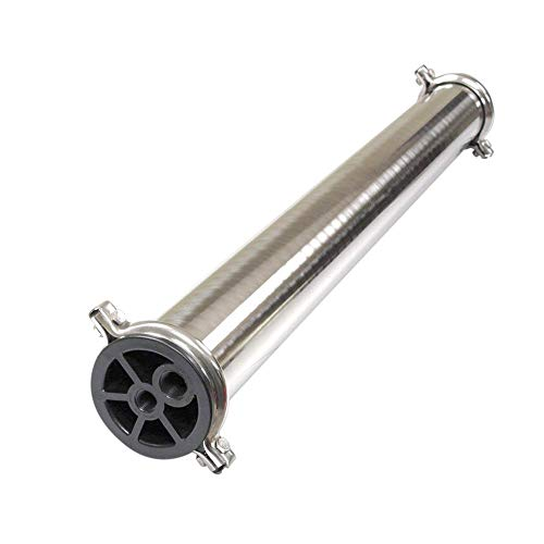 Max Water 4040 Reverse Osmosis Commercial 304 Stainless Steel Pressure Vessel 4