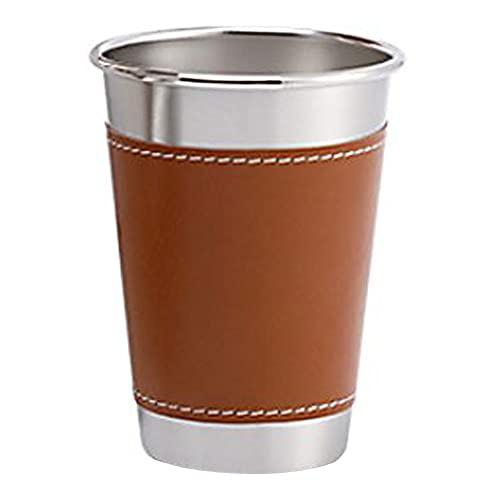 fedsjuihyg Vasos para Beber la Taza de Cerveza del Metal del Vaso de Cerveza con Las Tazas de consumición Funda de Pinta a la consumición de la Cerveza L