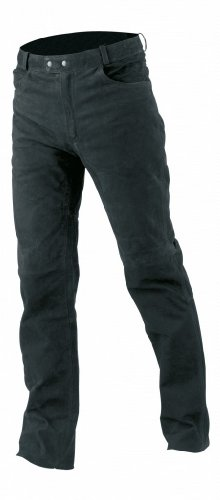 Büse Nubuk Western Jeans recht 62 zwart
