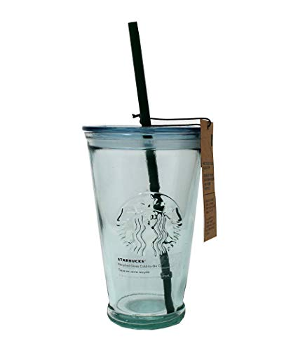 Starbucks Recycled Glass Cold Cup, 16 Fl Oz