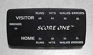 Score One Baseball/Softball Scorekeeper with Clip