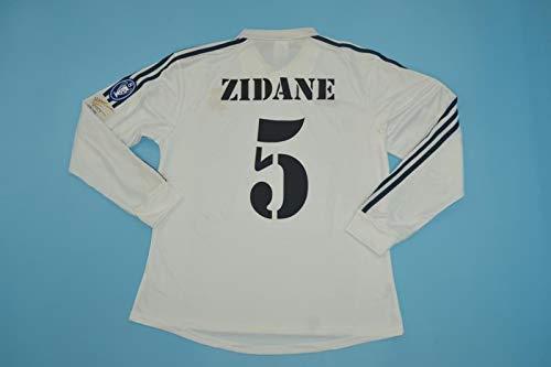 FM Zinedine Zidane Retro Long Sleeve Jersey 2002 (M)