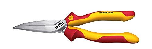 WIHA 35462 - Alicates de boca semi-redonda Industrial electric Z 05 1 09 200 mm Industrial electric Ref. Z05120009
