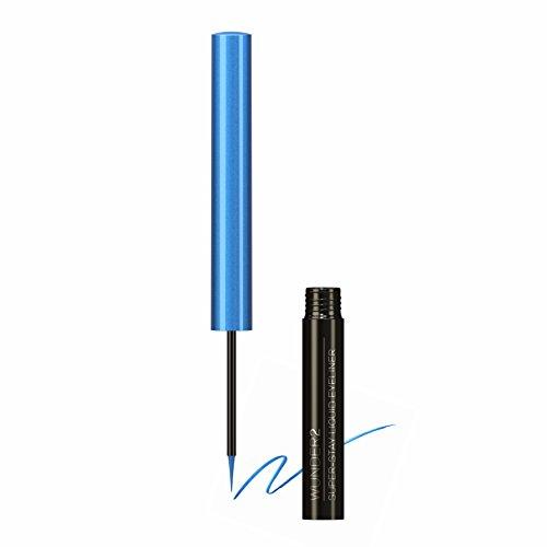 WUNDER2 SUPER-STAY Liquid Eyeliner -  Flüssiger Eyeliner Wasserfest, abriebfest und bis zu 24...