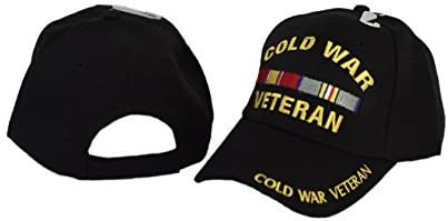 MWS Cold War Complete Free Shipping Veteran Veterans Direct store Vet Ribbons Hat Ribbon Black with