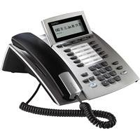 Agfeo ST21 SO Systemtelefon M. Beweglichem Display, silber