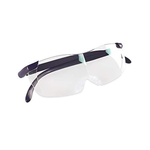PAN Hände frei Stirnband Lupe 3X Zoom Kopf montiert Lupen zum Lesen, Schmuck-Lupe, Uhr, elektronische Reparatur, schwarz