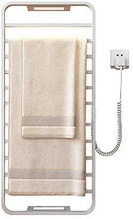 Handtuchhalter-Heizkörper, Wandmontierter Elektro-Handtuchhalter WiFi Intelligent Control aus Edelstahl, 420 * 950 * 105MM, Weiß