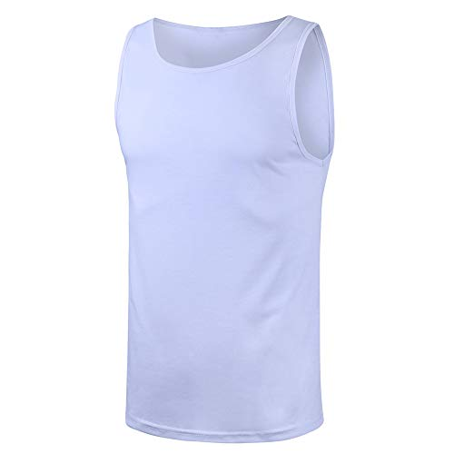 Why Choose Leepus Fashion Men Summer Tank Top Running Vest O Neck Sleeveless Casual Comfortable Spor...