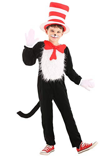 Dr. Seuss The Cat in the Hat Deluxe Costume Kids Large