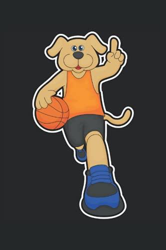 Basketball Notizbuch, 120 Seiten: Hund - Geschenke - Basketball Notizbuch - Tagebuch für Frauen, Männer und Kinder - Punktraster
