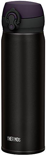 JNL-502 ALB - Bouteille isotherme en acier inoxydable - 0,5 l - Noir