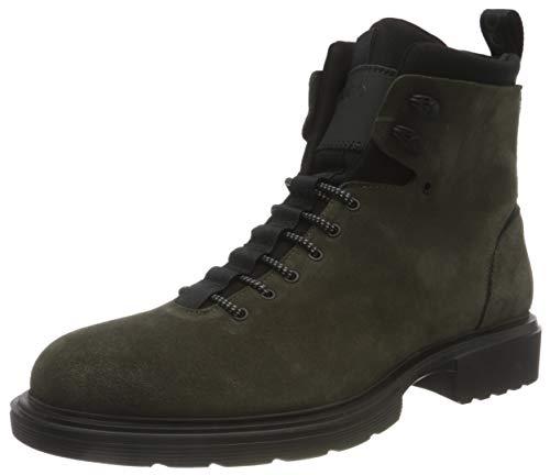 HUGO Herren Dart_Halb_sdneo Mode-Stiefel, Dark Green303, 40 EU