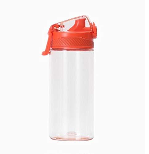 JIAOJIAN Sport all'Aria Aperta di Tendenza di personalità Creativa e Bottiglia di Acqua Potabile a Prova di perdite Portatile della Palestra A 480ml