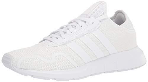 adidas Originals Men's Swift Essential Sneaker, White/White/White, 10